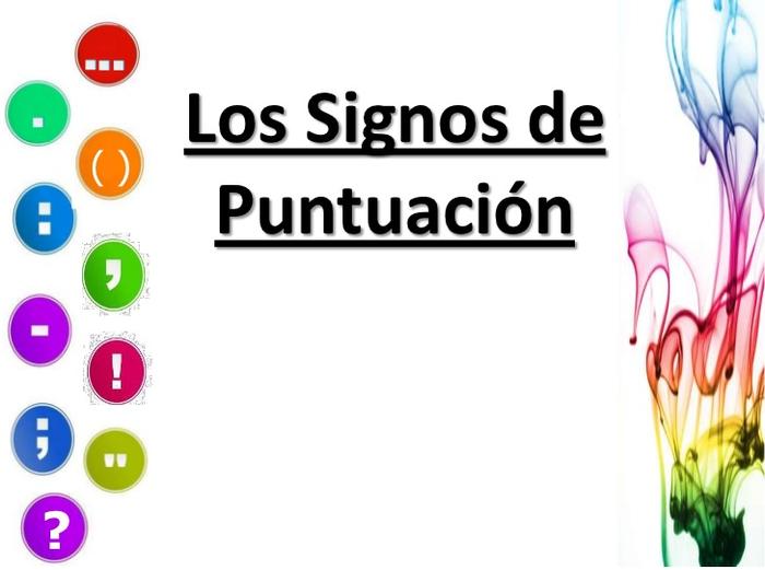 SIGNOS DE PUNTUACIÓN- IMÁGENES PARA IMPRIMIR « EDUCACION